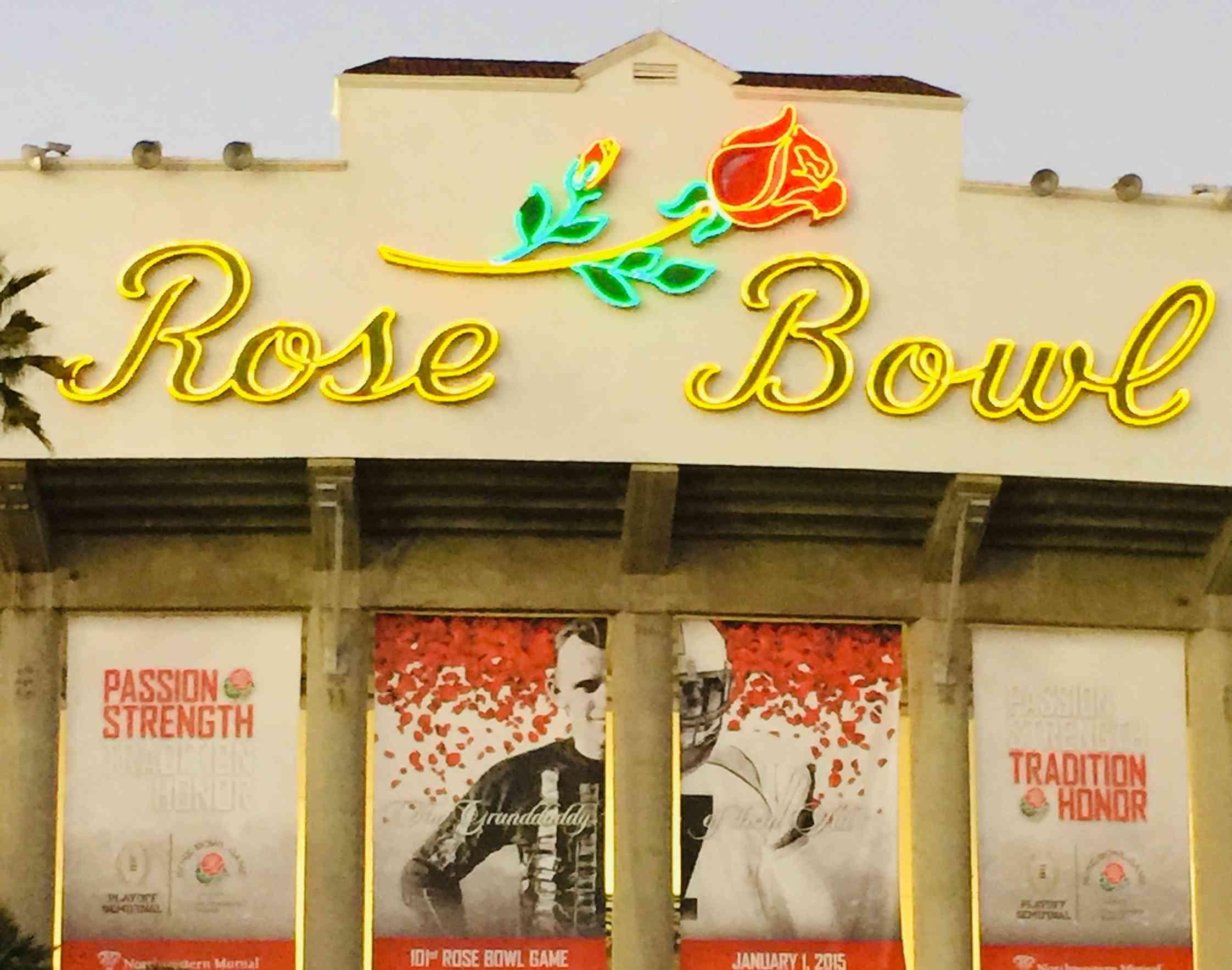 The Rose Bowl Stadium